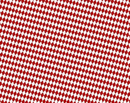 Diamond pattern background - Red White photo