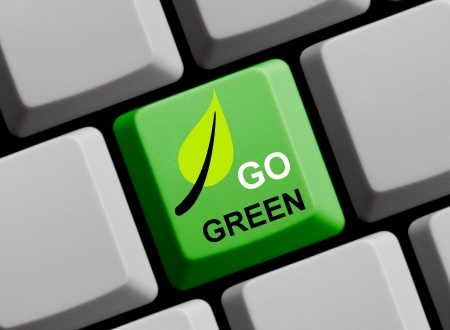 Go Green online photo