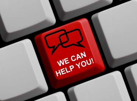can we help: We can help you - Online Help