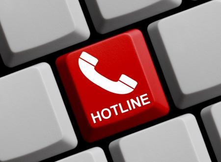 Online Hotline Stock Photo - 16843662