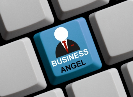 Business Angel online Stock Photo - 16269266