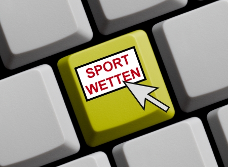Sportwetten online Stock Photo - 16466092
