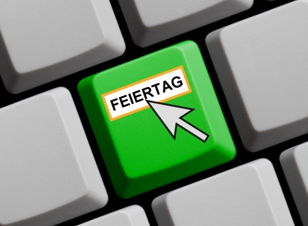 Feiertag online Stock Photo - 16465587