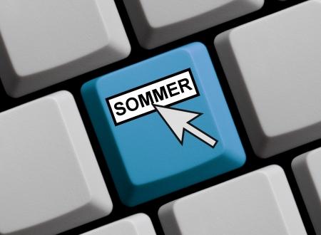 Sommer online Stock Photo - 16459322