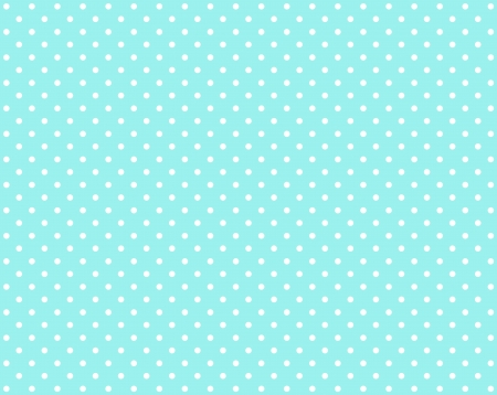 White dots on the background in light blue
