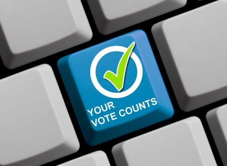 Your vote counts Stock Photo - 17368806