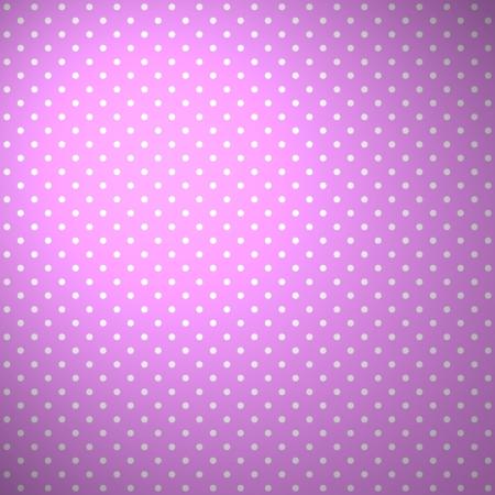 Fondo rosado con puntos blancos Foto de archivo - 18235288