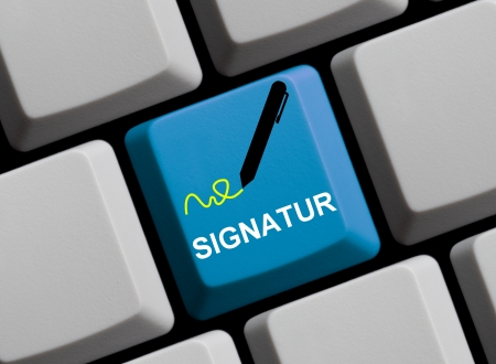 personally: Online Signature