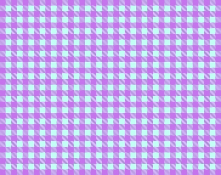 Pink blue tablecloth photo