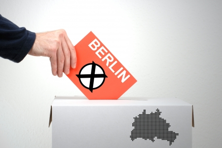 Election in Berlin photo