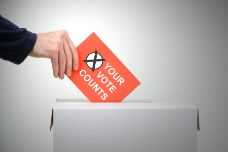 Your vote counts photo