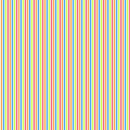 Background with orange, blue, green and pink stripes Stock Photo