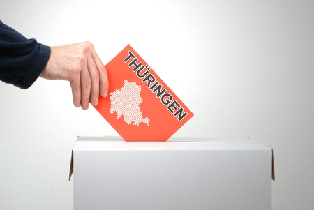petitions: Election in Thuringia Stock Photo