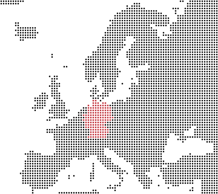Germany - Series  Pixel map of Europe photo