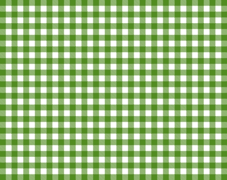 picnic blanket: Tablecloth with green and white diamonds