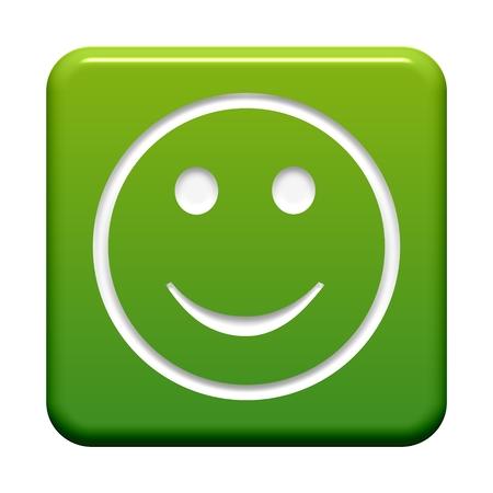 Button green  Happy photo