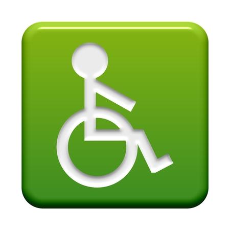 unable: Button green  Wheelchair