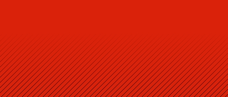 oblique: Red background and oblique dark lines with gradient
