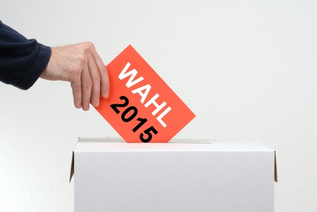 petitions: Election 2015 Stock Photo