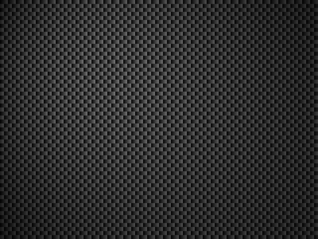 grid pattern: Background - carbon fiber black gray Stock Photo