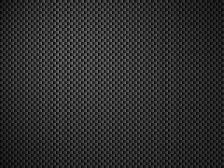 Hintergrund - Kohlefaser schwarz grau