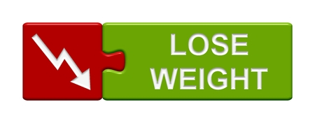 lose weight: Puzzle Button  Lose Weight