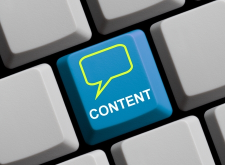 backlinks: Content Stock Photo