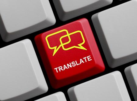 Übersetzen Online Lizenzfreie Bilder