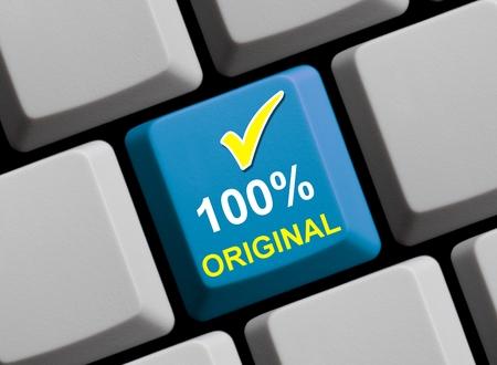 100 Percent original