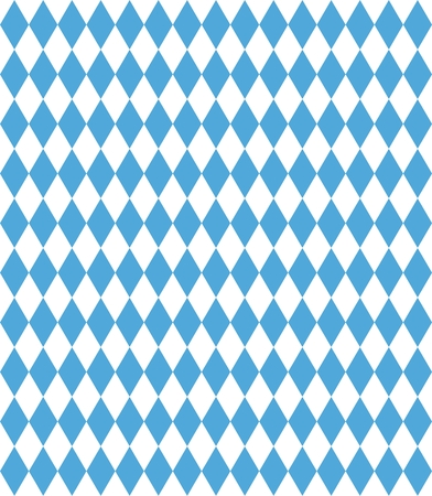 picnic blanket: Diamond pattern blue white