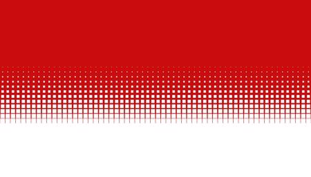 흰색으로 부드러운 전환과 빨간색 배경
