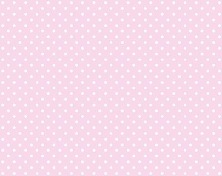 小さな白いドットとピンクの背景