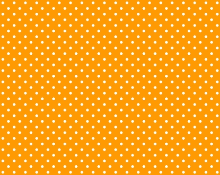 Orange background with small white dots photo