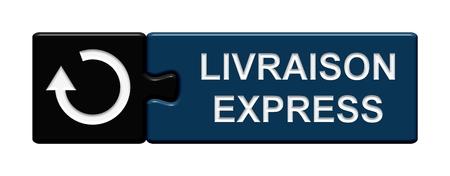 overnight delivery: Puzzle Button Livraison Express