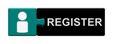 Puzzle Button Register photo