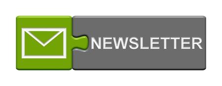 パズル ボタン ニュースレター 写真素材 - 33308804