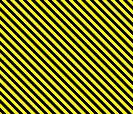 rayures diagonales: Contexte rayures diagonales en noir et jaune Banque d'images