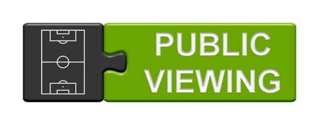public transfer: Puzzle Button Public Viewing Stock Photo