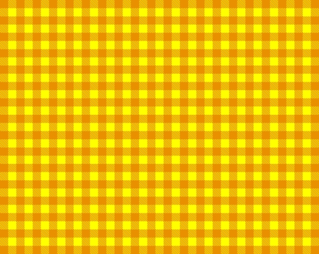 picnic blanket: Tablecloth in yellow and orange