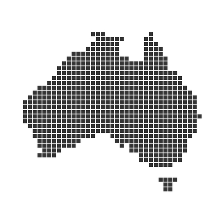 australia: Map of Australia