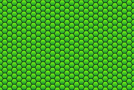 lotus effect: Honeycomb green