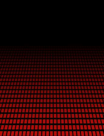 Perspective background with red dots photo