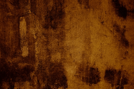 scratches: Grunge background of brown concrete wall with scratches
