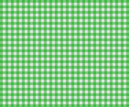 Tablecloth pattern background checkered with green and grey photo