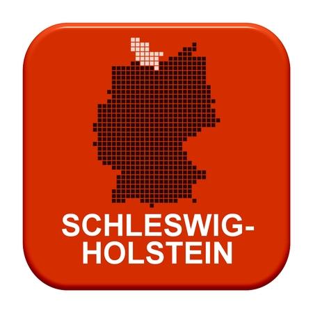holstein: Button Series german regions  Schleswig-Holstein Stock Photo