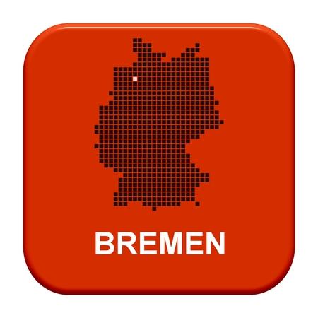 bremen: Button Series german regions  Bremen