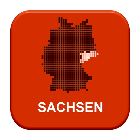 Button Series german regions  Sachsen photo