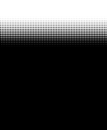 fading: Backgrund black with fading dots Stock Photo