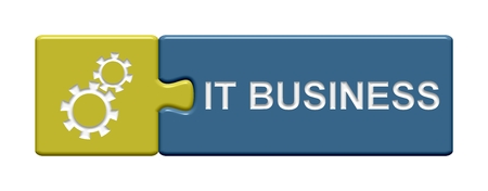 webhosting: Puzzle Button IT Business