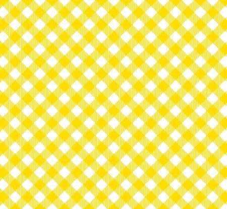 diagonal stripes: Tablecloths pattern with diagonal stripes in yellow